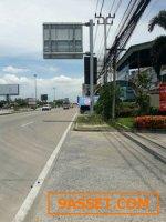 ขายที่ดิน  ติดถนนกาญจนาภิเษก ขนาด 22-2-08 ไร่ หน้ากว้างติดถนนกาญจนาภิเษก 85 เมตร