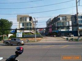 ขายอาคารพาณิชย์มหาชัยติดถนนเอกชัย 1 คูหา ถนนกว้าง 16 เมตร