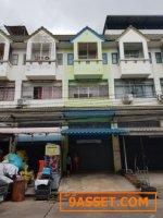 ขายตึกอาคารพาณิชย์ 3 ชั้นครึ่ง หมู่บ้านพิศาล ท่าข้าม บางขุนเทียน ตกแต่งใหม่พร้อมเข้าอยู่