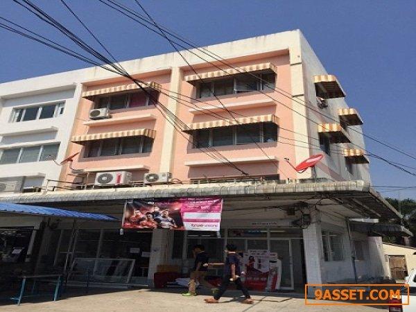 ขายตึกอาคารพาณิชย์ 2 คูหา 3 ชั้น มีชั้นลอย หมู่บ้านกัลปพฤกติดถนนเทพารักษ์