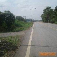 ขายที่ดิน1ไร่2งาน60ตารางวาติดถนนดำห่างสถานีรถไฟบางกระทุ่ม2กิโลเมตร