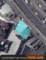 ขาย อาคารพาณิชย์ 3 คูหา ติดถนนพระราม 3 ใกล้เอเชียทีค