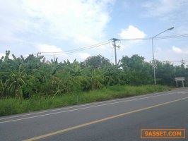 ขายที่ดิน ติดถนนลำลูกกาคลอง 9 ปทุมธานี (พื้นที่สีม่วงเข้ม) เนื้อที่ 2 ไร่