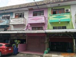 63254 ขาย อาคารพาณิชย์ หมู่บ้าน บูรพาวิลล่า 12 ดอนเมือง  ทำเลดี   ใกล้สนามบินดอนเมือง