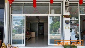ขายอาคารพาณิชย์ 5 ชั้น รามคำแหง 174 ขนาด 17 ตรว มีนบุรี  กทม