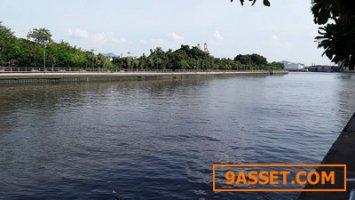 ขายที่ดิน ติดคลองลัดโพธิ์ วิวแม่น้ำ914 ตารางวา พระประแดง-บางกระเจ้า ใกล้สวนสุขภาพลัดโพธิ์ 0616494151