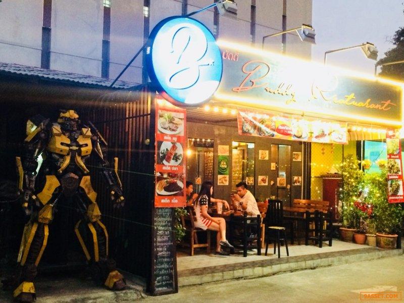เซ้งร้านและให้เช่าต่อ กิจการร้านอาหาร Buddy Restaurant ซอยอุดมสุข 58 บางนา กรุงเทพฯ
