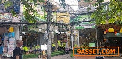 ขายอาคารพาณิชย์ ซ.รามบุตรี #ย่านถนนข้าวสาร ขนาดเนื้อที่ 32.7 ตร.ว.