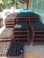ขายกิจการทำถ่านกะลามะพร้าวอัดแท่งทั็งหมด ราคา 900,000 บาท