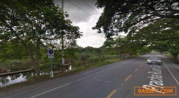 ที่ดินเนื้อที่ 51 ไร่ ไร่ละ 7 ล้าน  มีนบุรี ห่างรถไฟฟ้ามีนบุรี 5 กิโลเมตร
