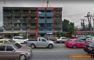 ขาย อาคารพาณิชย์ 4.5 ชั้น พระราม 5 อ.เมืองนนทบุรี ติดถนน ใกล้ MRT ใกล้ทางด่วน ทำกิจการได้หลายอย่าง