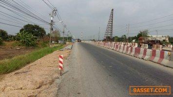 ขายที่ดิน-ด้านหน้าติดถนนสุวินทวงศ์-ด้านข้างติดซอยกว้าง16เมตรด้�