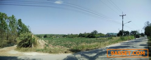 ขายที่ดินติดถนน 14-0-60 ไร่ อ.พนมสารคาม  ฉะเชิงเทรา น้ำ-ไฟพร้อม ห่างจากสวนอุตสาหกรรมโรจนะเพียง 10 กม.