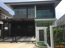 NEW HOUSE FOR RENT SETHASIRI KRUNGTHEP KREETHA 185 Sqm75 SqWa,    4 bedroom, 3 bathroom Bangkapi Near Brighton College Bangkok & Wellington College International Bangkok ให้เช่าบ้าน เศรษฐสิริ-กรุงเทพกรีฑา 4 นอน 3 ห้องน้ำ 75 ตรว พร้อมเฟอร์นิเจอร์ ไกล้ แอ
