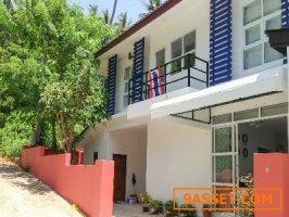 ขายบ้านเช่า ห้องเช่า Villa ให้เช่า บ้านพักตากอากาศเกาะสมุย ขายถูก ทำเลดีใกล้หาดแหลมเส็จ 500เมตร