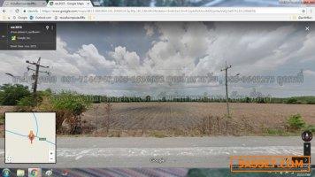 ขายที่ดินติดถนนทางหลวงชนบท ฉะเชิงเทรา 3015 เนื้อที่ 45-3-93 ไร่  ราคาไร่ละ 1.3 ล้าน
