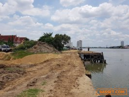ขายที่ดินเปล่า ริมแม่น้ำเจ้าพระยา 5 ไร่ 2 งาน ซอยราษฎร์บูรณะ 23 ใกล้ธนาคารกสิกรไทย สำนักงานใหญ่