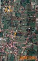ที่ดิน 3งาน หลัง ร.รไทยรัฐ ใกล้น้ำตกวังบ่อขายด่วนถูกมาก