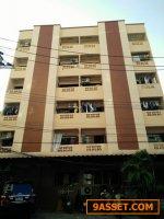 ขายอพาร์ทเมนท์ ผู้เช่าเต็ม  82 ตร.ว. 6 ชั้น จำนวน 52 ห้อง หอพักอยู่ ซ.ประชาชื่นนนทบุรี 8  ใกล้ ม.ธุรกิจบัณฑิตย์