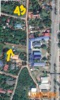 ที่ดิน 1 ไร่ติดถนนลาดยางบรรยากาศสวนหลังปั้ม พีที จ.ปราจีนบุรี