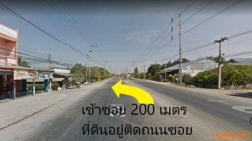 ที่ดิน ราชบุรี(หนองปลาหมอ-บ้านโป่ง) 22 ไร่ 47sq.w.,ติดถนนซอยหลัก