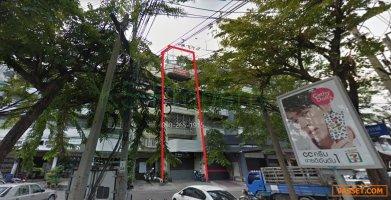 ขายอาคารพาณิชย์ 3ชั้นครึ่ง แยกตก ถนนมไหสวรรย์ ยานนาวา