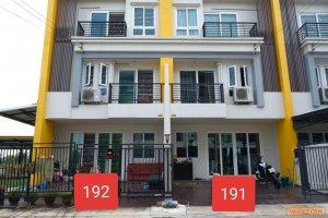 ด่วนขายทาวน์โฮม 3 ชั้น หมู่บ้านสุวรรณภูมิทาวน์ ลาดกระบัง กรุงเทพฯ