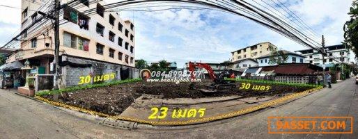 ขาย ที่ดิน 174.6 ตารางวา ถมแล้ว ซ.สรงประภา5 ดอนเมือง ใกล้สนามบินดอนเมือง