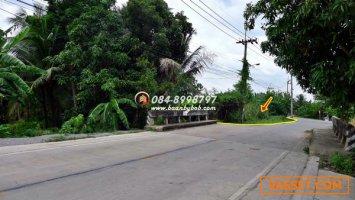 ขายที่ดิน บางกรวย นนทบุรี ถนนราชพฤกษ์ นครอินทร์ ใกล้ตลาดสดพระราม5