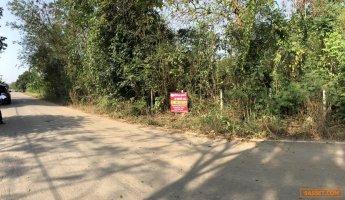 ขายด่วน ที่ดินเปล่าอำเภอเมืองกาญจนบุรี หมู่ 7 ต.วังน้ำเย็น เนื้อที่ 3-1-01 ไร่ ทำเลดี ด้านหน้าติดถนน