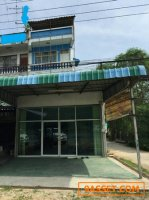 ขายอาคารพาณิชย์ 3 ชั้น 1 คูหา หน้ากว้าง 5 เมตร เนื้อที่ 18.7 ตรว.
