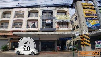 ขายด่วน อาคารพาณิชย์ 4 ชั้น ตำบลเสม็ด อำเภอเมืองชลบุรี ชลบุรี 20 ตรว.