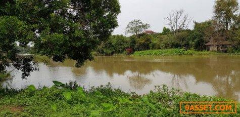 ที่ติดแม่น้ำสวยๆแปลงนี้จ้า เนื้อที่ 2ไร่1งาน 83ตรว. 5.5 ล้านฟรีโอนจ้า