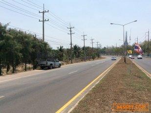 ขายที่ดินสวยมาก ขนาด 125 ไร่  ติดถนนกว้าง 4 เลน อำเภอดำเนินสะดวก จ.ราชบุรี
