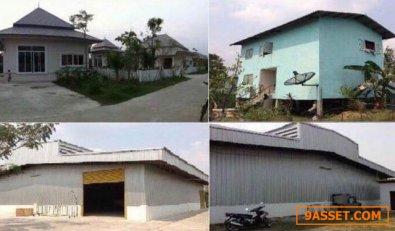 ขายที่ดินพร้อมสิ่งปลูกสร้าง 2-1-33 ไร่  ซ.บ้านสวนเศรษฐกิจ 30 ชลบุรี ใกล้นิคมอมตะนคร