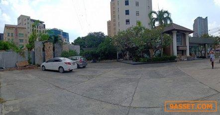 ขายที่ดินติดถนนรัชดาภิเษก เนื้อที่ 1-1-24 ไร่  ถูกกว่าราคาประเมินมาก ใกล้ MRT สุทธิสาร 170 ม.