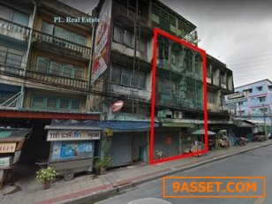 ขายอาคารพาณิชย์ 2 คูหา 38 ตารางวา ใกล้ MRT สุทธิสาร เพียง 150 เมตร
