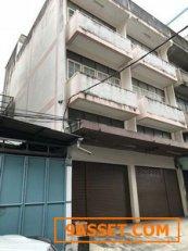 ขายอาคารพาณิชย์ 2 คูหา ถนนรามอินทรา กม8 ใกล้โรงพยาบาลสินแพทย์