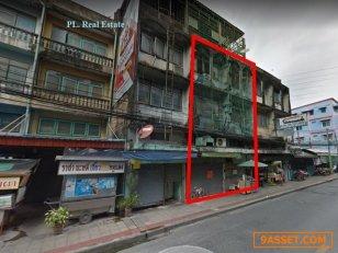 ขายอาคารพาณิชย์ ใกล้ MRTสุทธิสาร150 เมตรใกล้ 4 แยกสุทธิสาร