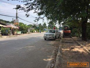 ขายที่ดินเปล่า ติดถนนใหญ่ ที่สวย ทำเลดี บ้านโป่ง ราชบุรี
