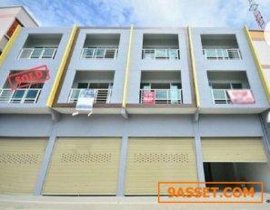 ขาย อาคารพาณิชย์ ขนาด 24ตรว  หน้ากว้าง 4เมตร ลึก 24 เมตร อาคาร 3ชั้นพร้อมดาดฟ้า 3ห้องน้ำ 2 ห้องนอน