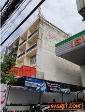 ขาย อาคาร พาณิชย์ทำเลดีติดถนนใหญ่  4 ชั้นครึ่ง ติดถนน ศรีนครินทร์ ราคา 24 ล้านบาท