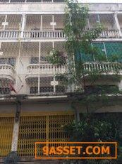 ขายอาคารพาณิชย์ ทางเข้าตลาดสำเพ็ง2  จำนวน1คูหา ถนนกัลปพฤกษ์ ฝั่งขาออกถนนกาญจนาภิเษก ราคาถูก aaa