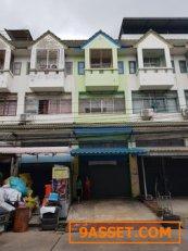 ขายตึกอาคารพาณิชย์ 3 ชั้นครึ่ง ท่าข้าม สวยทำเลค้าขายอยู่อาศัย ร้านค้าได้เลยแต่งพร้อมอยู่