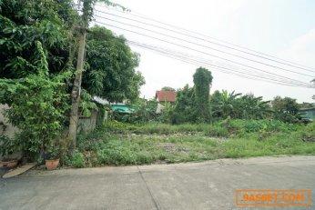 ขายที่ดินเปล่า ถมแล้ว ขนาด 109 ตรว. ซอยงามวงศ์วาน 31 สร้างอพาร์ตเมนท์ หอพักได้เลย