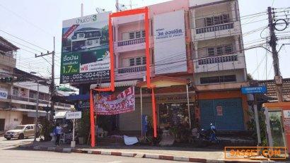 อาคารพาณิชย์ ทำเลดีมาก  สำนักงาน ตำบลหน้าเมือง อำเภอเมือง จังหวัดราชบุรี 22.3 ตารางวา