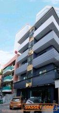 ขายตึก 5 ชั้นเพิ่งสร้างเสร็จ ย่านห้วยขวางประชาราษฏร์บำเพ็ญ เหมาะทำห้องพักรายวัน