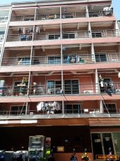 ขาย อะพาร์ตเมนต์ 6 ชั้น 46 ห้อง คนเช่าเต็มตลอดอยู่ในโซนนักศึกษา Yield Return 8% ต่อปี