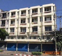 C0373 ขายอาคารพาณิชย์ 4 คูหา 4 ชั้น ริมถนนเฉลิมพระเกียรติ ร.9 เขตประเวศ
