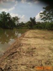 ขายที่ดินสวยมาก ทำเลดี ติดแม่น้ำนครนายก เนื้อที่ 3-2-44 ไร่